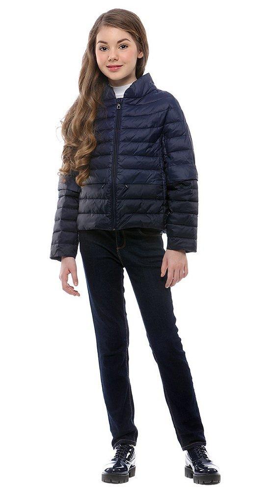 Детская демисезонная куртка CONSOКуртки<br><br><br>Размер: 116-122, 128-134, 140-146, 152-158<br>Материал: Био-пух<br>Цвет: Синий<br>Сезон: Демисезон<br>Длина: Короткая<br>Артикул: SG170201