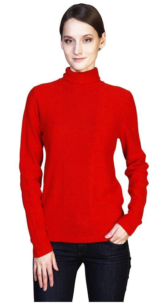 Красная водолазкаКофты<br><br><br>Размер: 42, 44<br>Материал: кашемир<br>Цвет: Красный<br>Сезон: Демисезон, Весна<br>Длина: Короткая<br>Артикул: 00321
