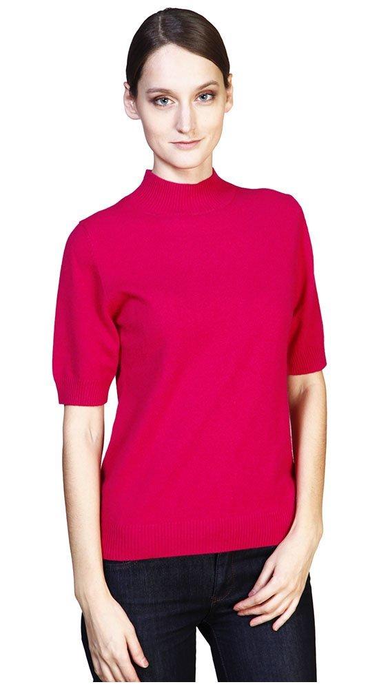 Женская кофта с коротким рукавом краснаяКофты<br><br><br>Размер: 42, 44<br>Материал: кашемир<br>Цвет: Красный<br>Сезон: Демисезон, Весна<br>Длина: Короткая<br>Артикул: 00324