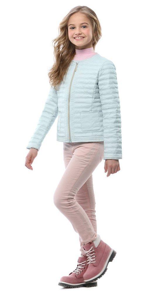 Куртка детская CONSO весна 2017Куртки<br><br><br>Размер: 116-122, 128-134, 140-146, 152-158<br>Материал: Био-пух<br>Цвет: Голубой<br>Сезон: Демисезон<br>Длина: Короткая<br>Артикул: SG170202