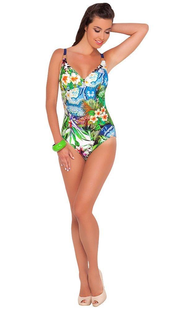 Слитный купальник с открытой спиной BahamaСлитные купальники<br><br><br>Размер: 44C<br>Материал: эластан, нейлон<br>Цвет: Мульти<br>Сезон: Лето<br>Длина: None<br>Артикул: 101-664-802509