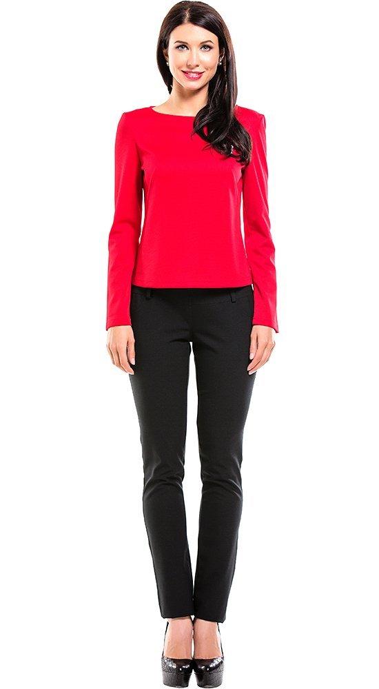 Легкий женский джемпер красного цвета REMIX 6091