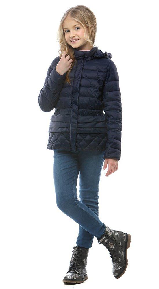 Синяя куртка для девочки весна 2017 Conso Sg170205